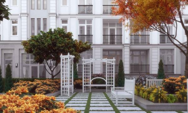 Chaika Resort - Многоквартирный дом эконом класса