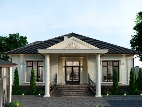Прекрасный одноэтажный домик
