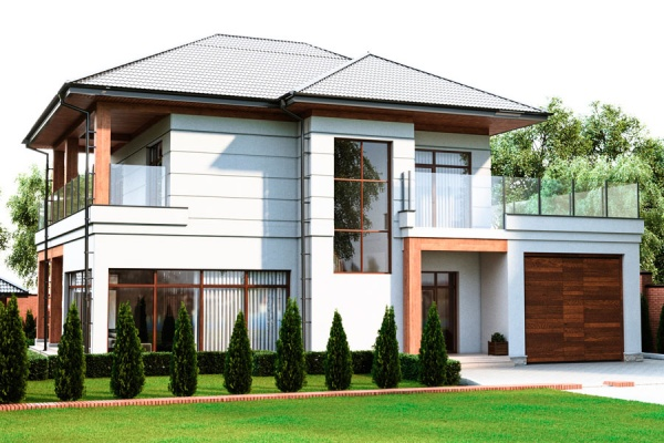 Проект частного дома Киргизия 1