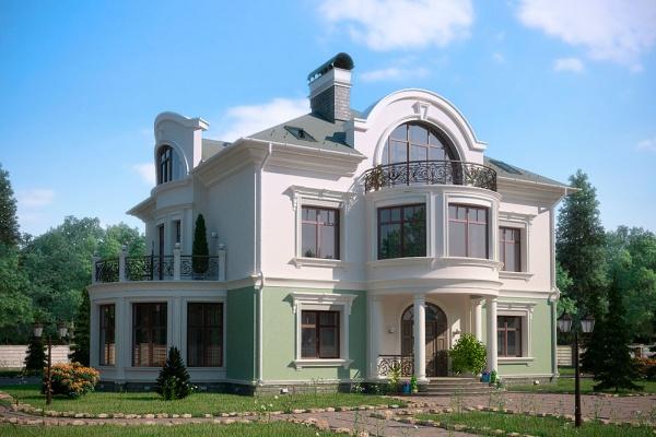 Проект усадьбы в Подмосковье